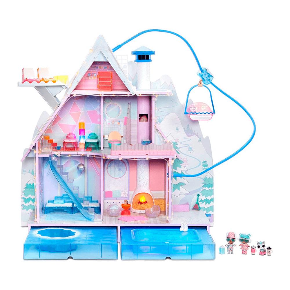LOL Surprise Chalet Winter Disco, Дом ЛОЛ Зимнее Шале + 95 сюрпризов - 7